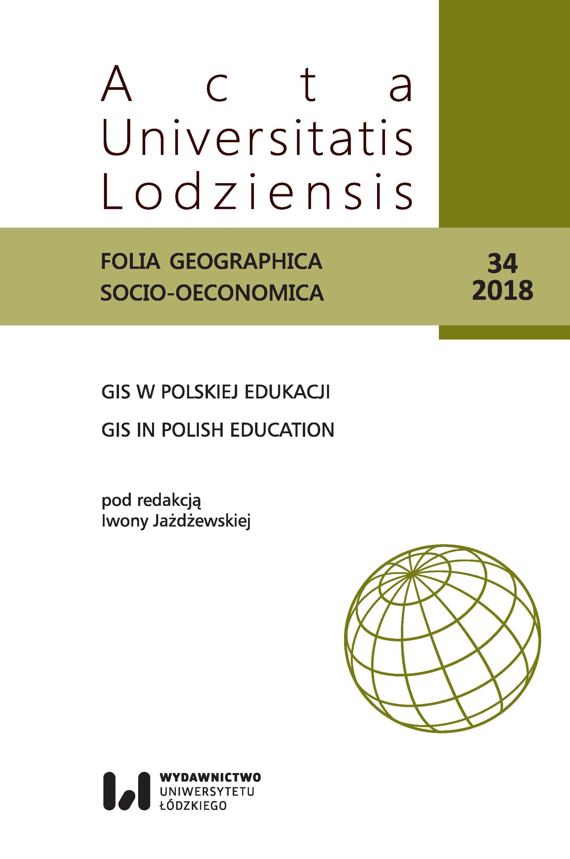 Wyświetl Nr 34 (2018): GIS w polskiej edukacji