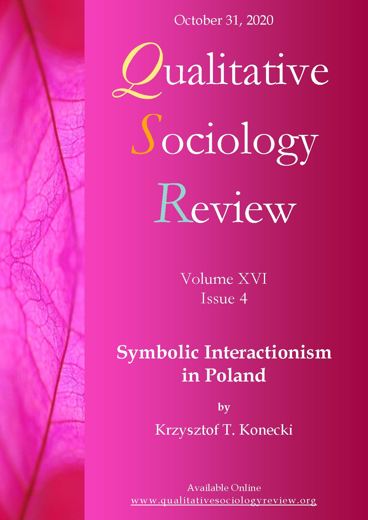 View Vol. 16 No. 4 (2020): Symbolic Interactionism in Poland