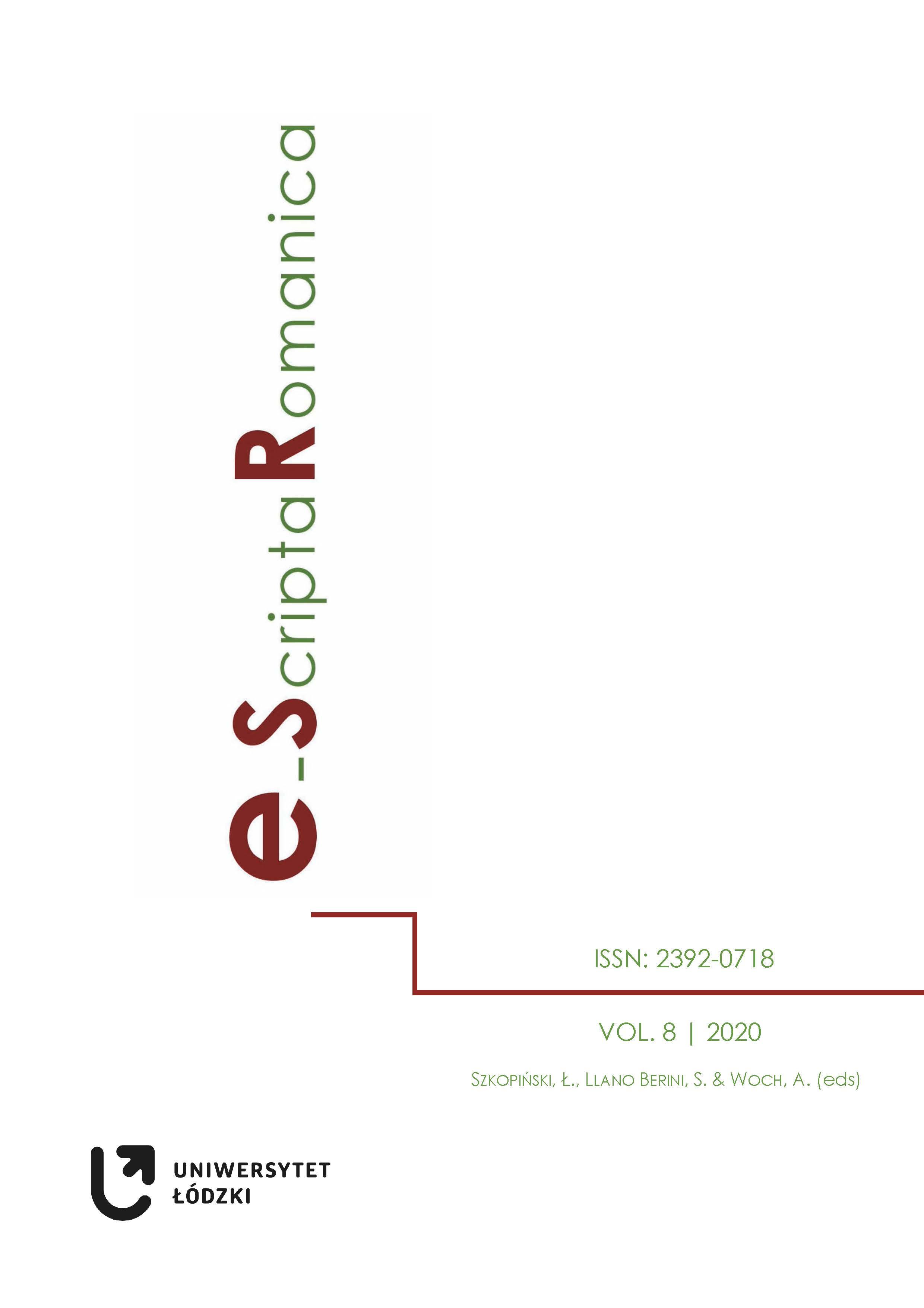 Ver Vol. 8 (2020)