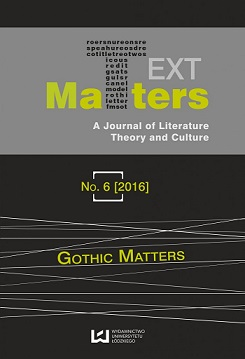 View No. 6 (2016): Gothic Matters