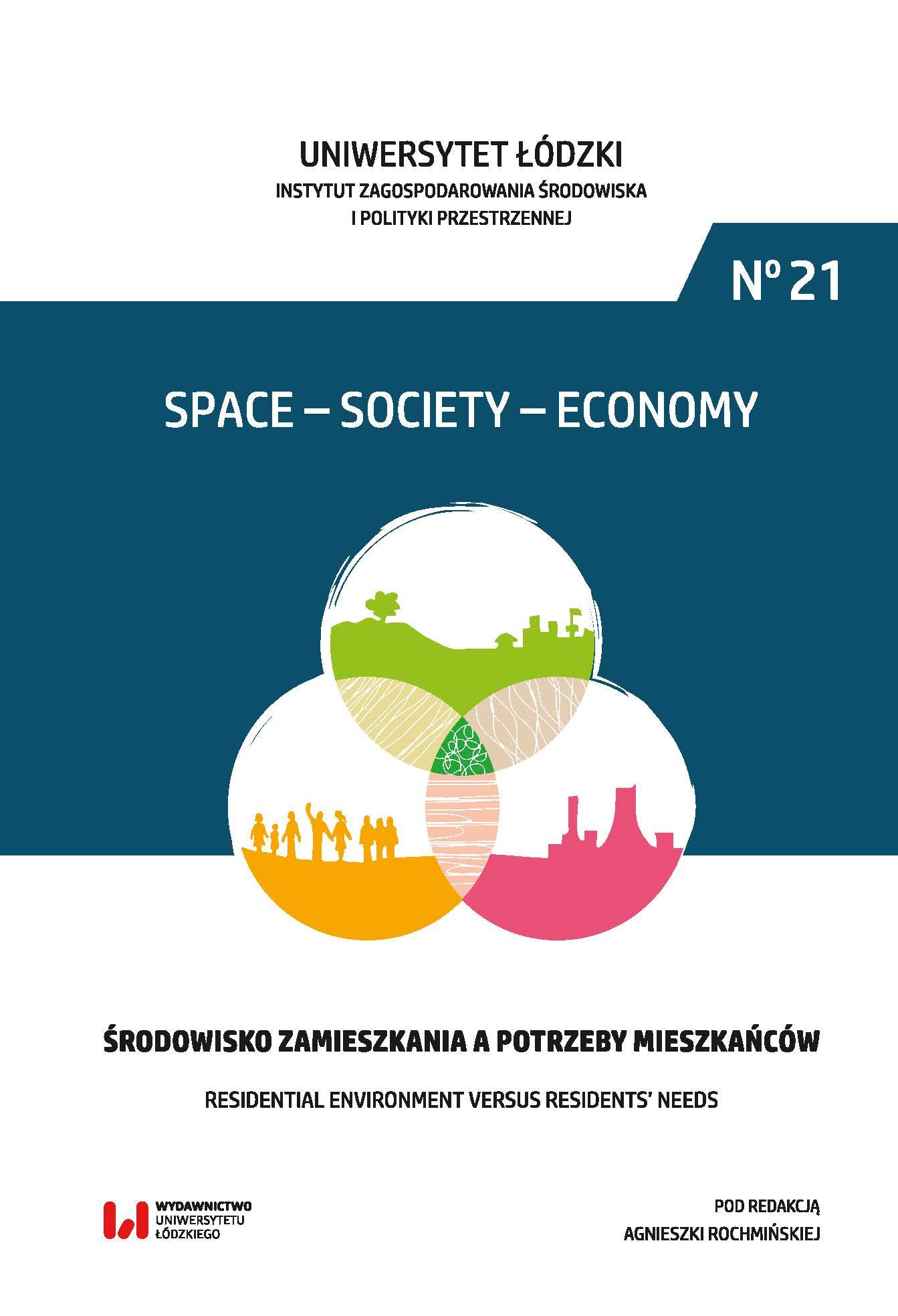 Wyświetl Nr 21 (2017): Środowisko zamieszkania a potrzeby mieszkańców